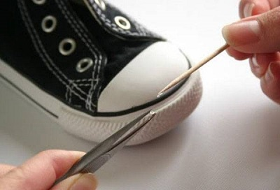 Prikopčati gumu