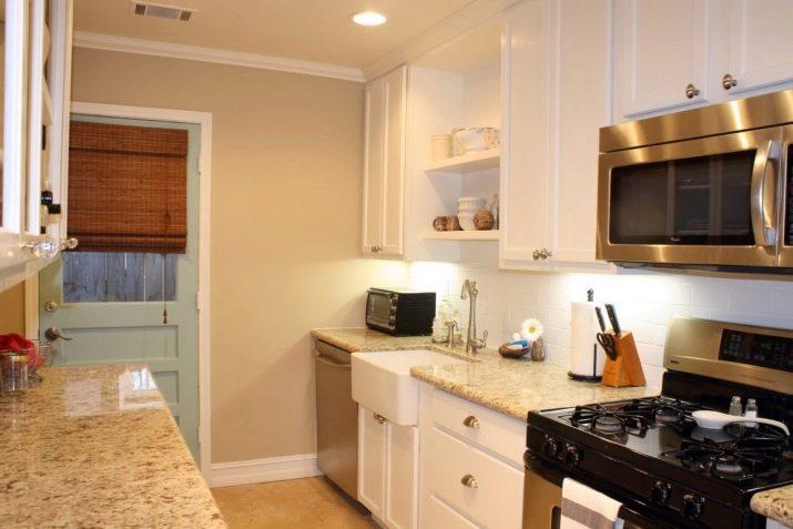 Il colore delle pareti in cucina (67 foto): nel soggiorno ...