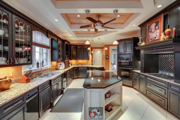 Saiz Kabinet Dapur 84 Gambar Kabinet Atas Dan Bawah Perabot Dapur