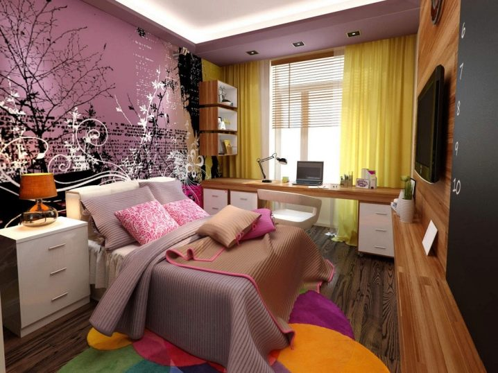 Bedroom Design 12 Square Meters M 120 Photos Real Repair Of A Small Room Spectacular Interior For Limited Meters How To Furnish Square And Rectangular